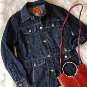 Isaac Mizrahi Oversized Jean Jacket Ex condition!
